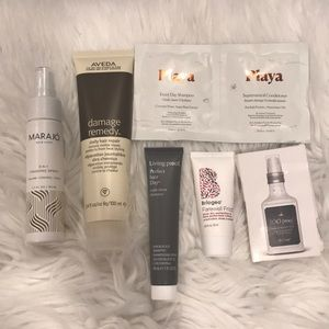 6 Piece Hair Product Lot Full Size + Samples